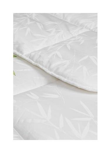 Taç Tac Bambu-Cotton Yorgan Tk 155X215 Tek Kişilik Beyaz